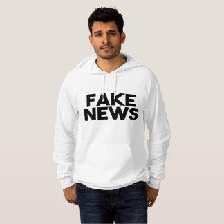 Moletom Verdade elegante do cargo da notícia falsificada