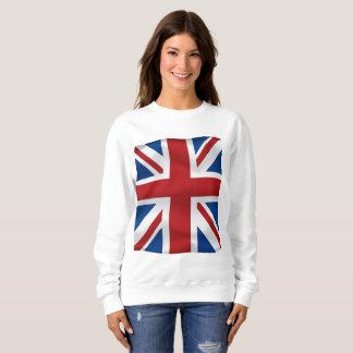 Moletom Vetor que acena a bandeira nacional britânica