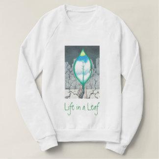 Moletom Vida em uma folha (letras verdes)