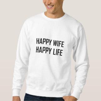 Moletom Vida feliz da esposa feliz