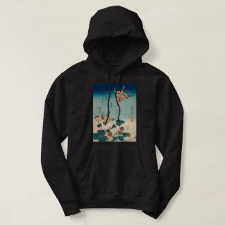 Moletom Vintage Shrike de Hokusai e arte de GalleryHD do