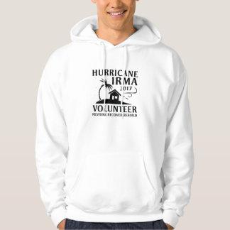 Moletom Voluntário de Irma do furacão