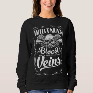 Moletom WHITMAN da equipe - T-shirt do membro de vida