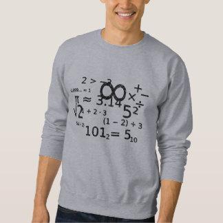 Moletom wiz engraçado da álgebra da matemática de volta ao