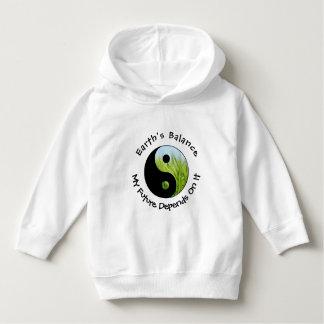 Moletom Yin Yang - o equilíbrio da terra meu futuro