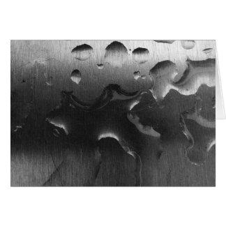 Molhe no aço Brushed - Noir, cartão
