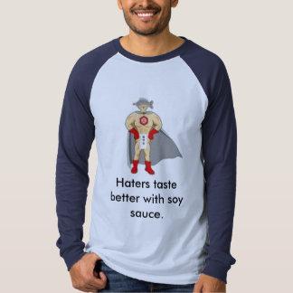 molho da aborrecedor-soja t-shirts