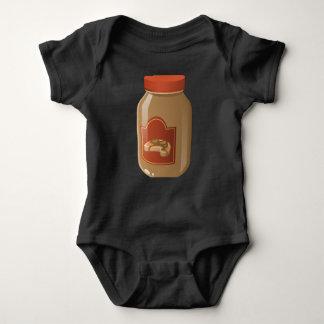 Molho ondulado da comida do pulso aleatório body para bebê