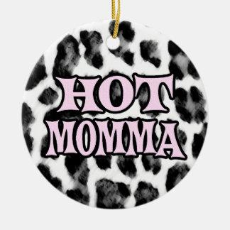 Momma quente enfeites para arvore de natal