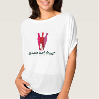 Mommas e Merlot - blusa Camiseta