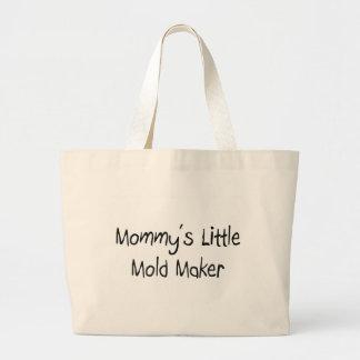 Mommys pouco fabricante do molde bolsas de lona