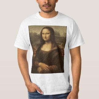 Mona Lisa. Camisa da arte de Leonardo da Vinci Camisetas