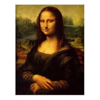 Mona Lisa Cartão Postal