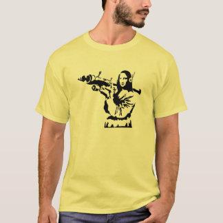 Mona Lisa com RPG Camiseta