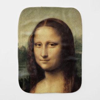 Mona Lisa em detalhe por Leonardo da Vinci Paninhos De Boca