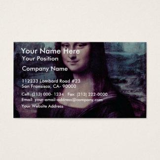 Mona Lisa (La Giaconda) por Leonardo da Vinci (Bes Cartão De Visitas