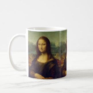 Mona Lisa - Leonardo da Vinci Canecas