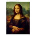 Mona Lisa | Leonardo da Vinci Cartão De Nota