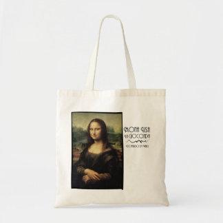 Mona Lisa pelo daVinci Bolsas Para Compras