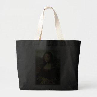 Mona Lisa por Leonardo da Vinci, arte de Bolsa Para Compra