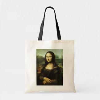 Mona Lisa por Leonardo da Vinci, arte de Bolsa Tote
