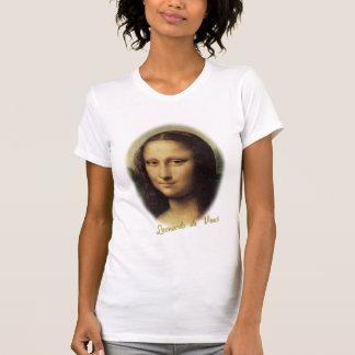 Mona Lisa por Leonardo da Vinci Tshirts