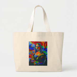 Mona Lisa Wpap Bolsa Tote Grande