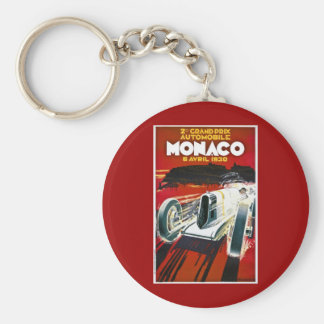 Monaco Prix grande 1930 Chaveiro