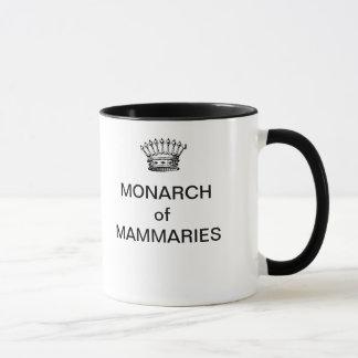 MONARCA da caneca de café de MAMMARIES