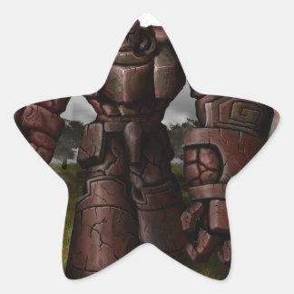 Monarca da terra adesito estrela