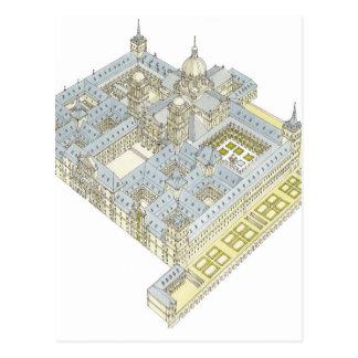 Monastério de San Lorenzo EL Real de EL Escorial. Cartão Postal