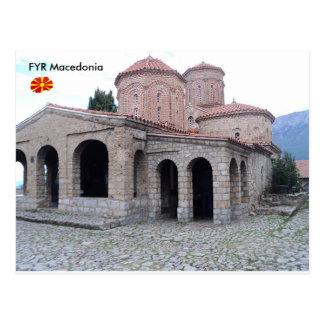 Monastério de St. Naum, FYR Macedónia Cartão Postal