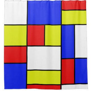 Mondriaan #19 cortina para box