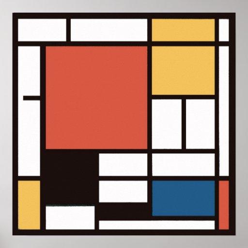 Mondrian 2 poster