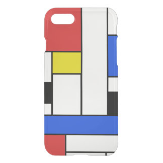 Mondrian alinha a caixa do defletor de Clearly™ do Capa iPhone 7