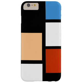Mondrian Capas iPhone 6 Plus Barely There