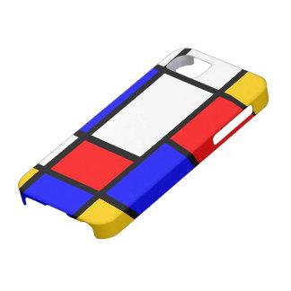 Mondrian clássico capas para iPhone 5