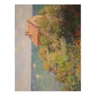 Monet sumário que pinta Monet, Claude 1840-11-14 1 Cartões Postais