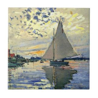 Monet - veleiro em Le Pequeno-Gennevilliers