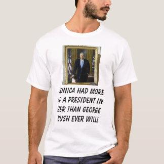 monica/arbusto camiseta