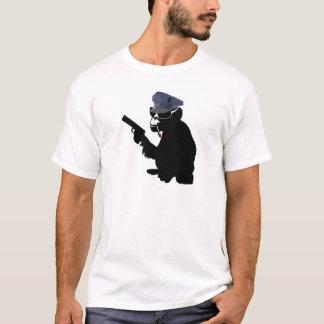 monkey police camiseta