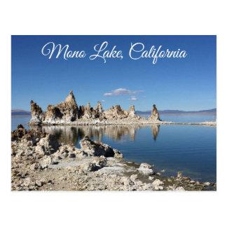 Mono cartão de Califórnia do lago