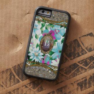 Monograma chique floral de Morgans Grandlyn