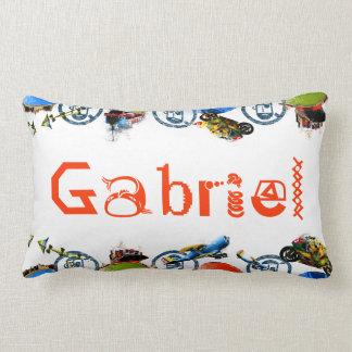 Monograma conhecido personalizado para travesseiros de decoração
