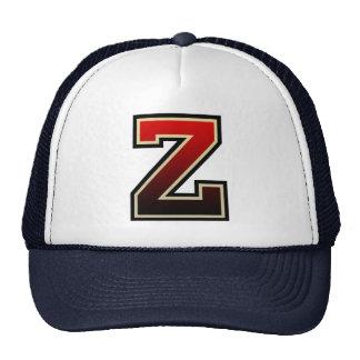 """Monograma da letra """"Z"""" Boné"""