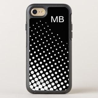 Monograma do profissional do negócio capa para iPhone 8/7 OtterBox symmetry