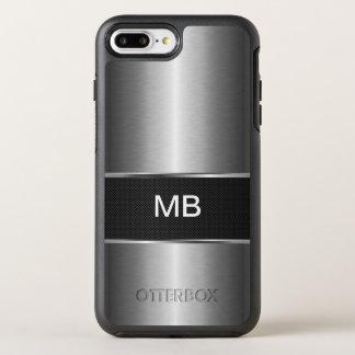 Monograma do profissional do negócio capa para iPhone 8 plus/7 plus OtterBox symmetry
