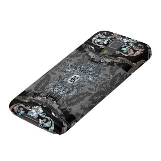Monograma elegante de Demask do gótico Capa Para Galaxy S5
