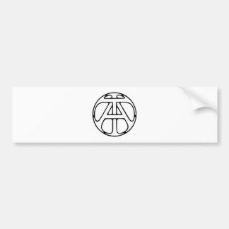 Monograma EM/Ta Adesivo Para Carro