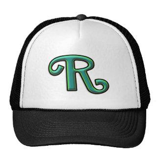 "Monograma feito sob encomenda da letra ""R"" Boné"